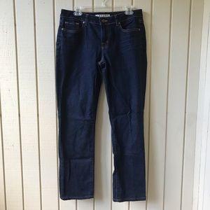 J Brand Curvy Fit Cigarette Leg Jeans INK 32